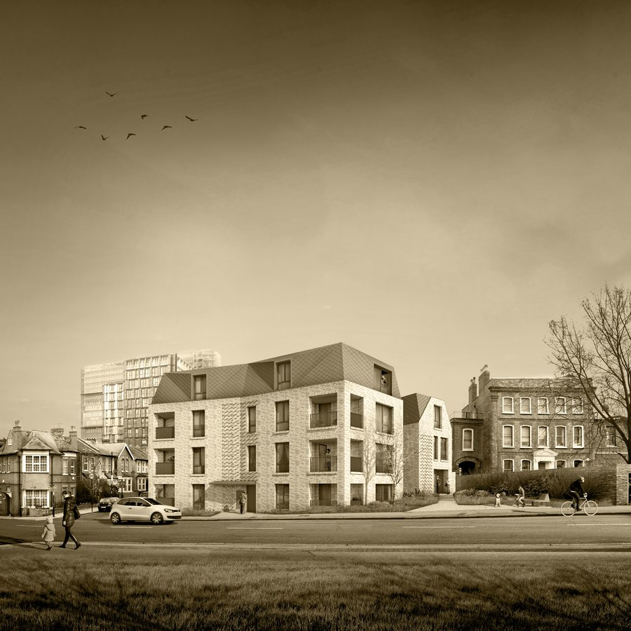 Coombe Road Sepia